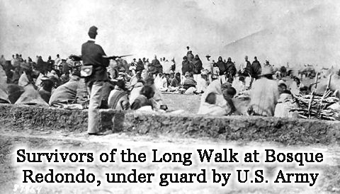 Survivors of the 1848 Long Walk to Bosque Redondo